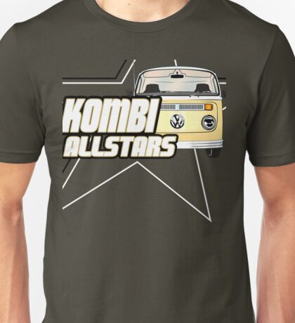 Volkswagen Kombi Tee Shirt - Kombi Allstars Brown T-Shirt