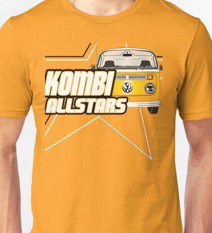 Volkswagen Kombi Tee Shirt - Kombi Allstars Yellow T-Shirt