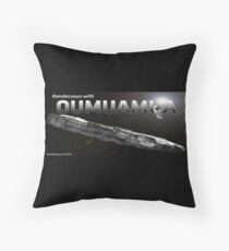 Rendezvous with Oumuamua Throw Pillow