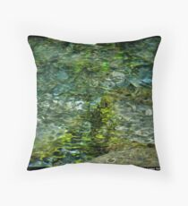 Bubbling Spring Throw Pillow