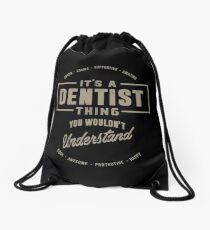Dentist Thing Drawstring Bag