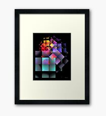 'Cryptic Question' Framed Print