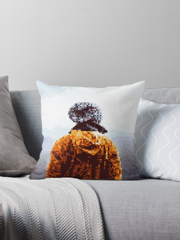 Pixel VIEW Pillow & Gift by Legendemax