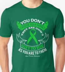 Family Are Gods Gift To You! Lyme Disease Awareness Unisex T-Shirt