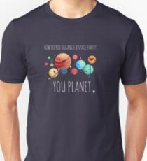 How to organize a space party? Slim Fit T-Shirt