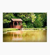 Brookside Bridge Photographic Print