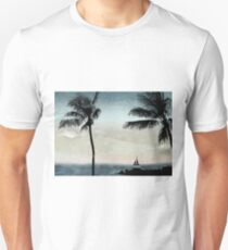 Tropical Evening Unisex T-Shirt
