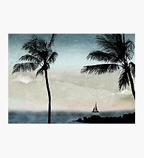 Tropical Evening Photographic Print