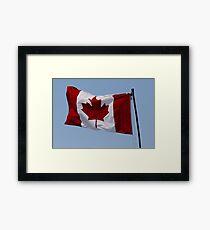 "Happy Birthday ""Canada"" Framed Print"