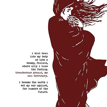 Handmaid's Tale - Literary Quote by 5pennystudio