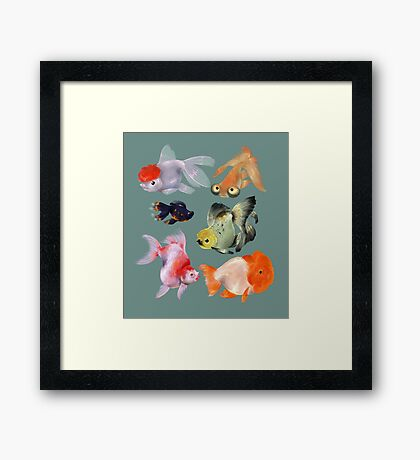 Fishies Framed Print
