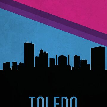 Toledo skyline by SvenHorn