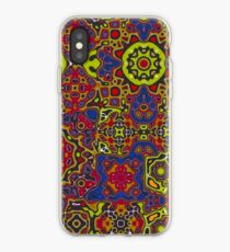 Funky pattern 1 iPhone Case