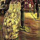 Snowy owl by Yoo-lee-a