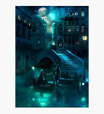 Venice Moon Photographic Print