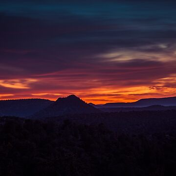 Sedona Sunset by eegibson