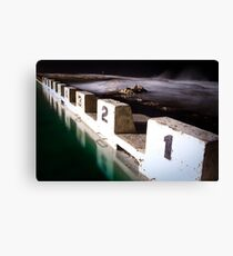 Ocean Baths Canvas Print