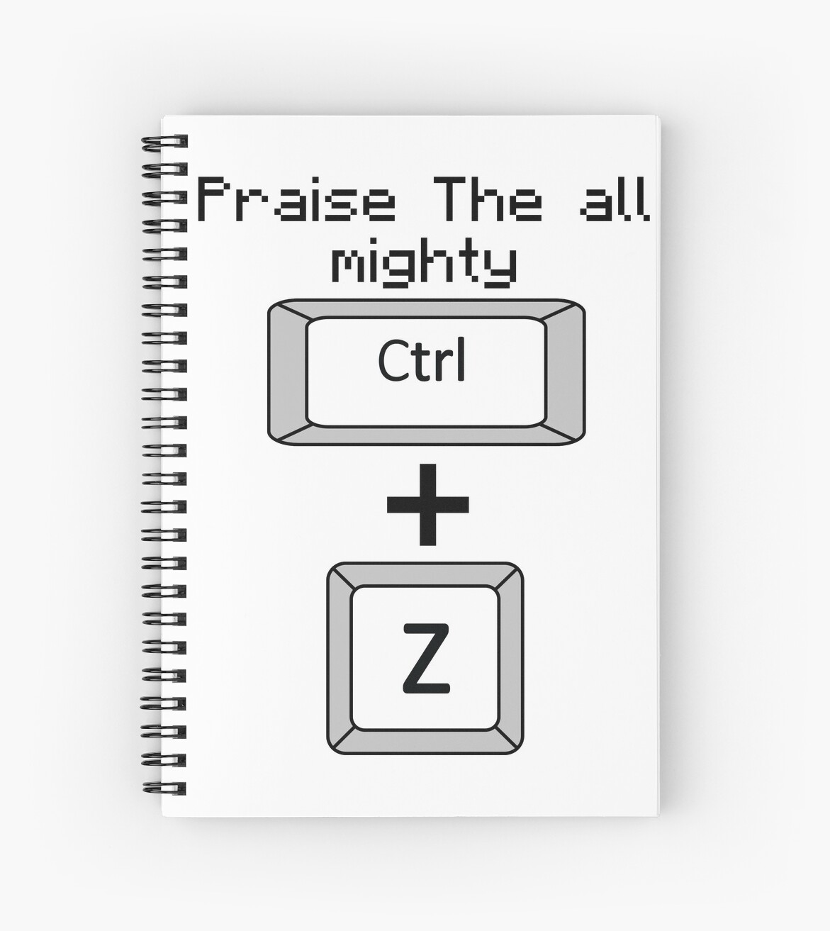 The mighty Ctrl + Z vertical by GodOfPotatoes