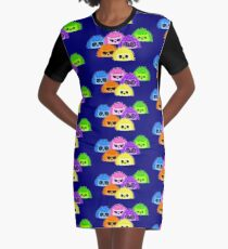 Papparazzi Ready Graphic T-Shirt Dress