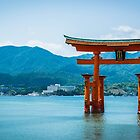 Miyajima Floating Torii Gate by Michelle McConnell