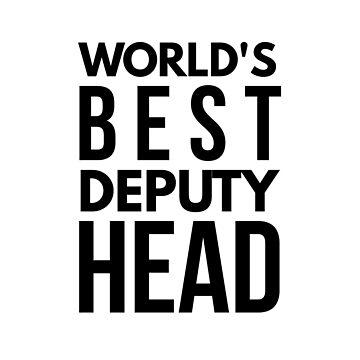 Best deputy head by CharlyB