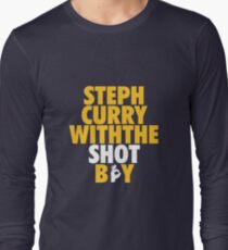 timeless design e63cb f9c11 Steph Curry With the Shot Boy T-Shirts | Redbubble