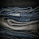 Faded Denim by Barb Leopold