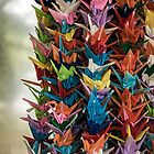 Paper Cranes by Michelle McConnell