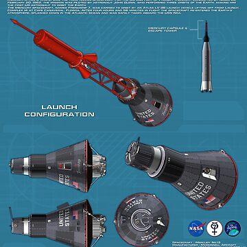 Mercury-Atlas 6 - Friendship 7 by Xcess