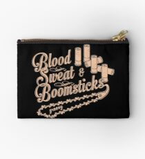 BLOOD SWEAT & BOOMSTICKS Studio Pouch