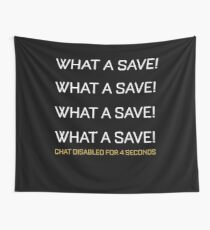 What A Save Chat Disabled Funny Gift For Rocket Gamers Wall Tapestry