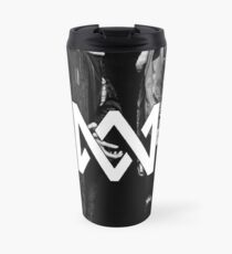 jet black Travel Mug