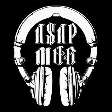 A$AP MOB- grand tee by WAGarmentSupply
