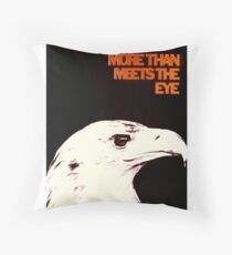 NSA Poster: More Than Meets the Eye Floor Pillow