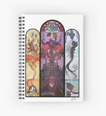 Yharnam Stained Glass Spiral Notebook