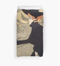 """Henri de Toulouse-Lautrec """"Divan Japonais"""" Duvet Cover"""