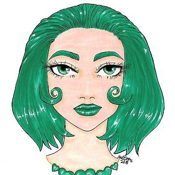 green heart  by Hardsara