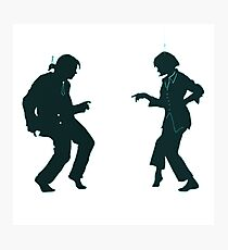 Pulp Fiction Dance Photographic Print