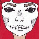 Skeleton Girl by Desiree Amber Moore