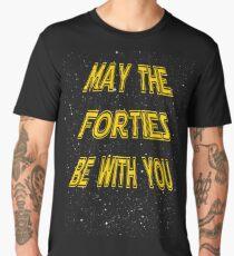 Camiseta premium para hombre Pueden los años cuarenta estar con usted diseño divertido del 40.o regalo de cumpleaños