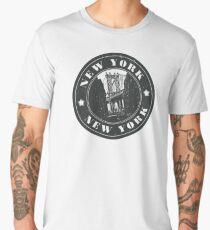 Cool New York Logo Men's Premium T-Shirt
