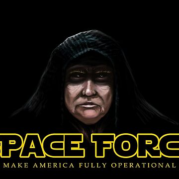 Space Force Emperor Trumpetine by sogj05