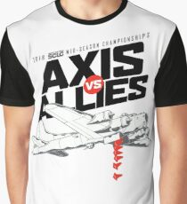SCCA RMSOLO Axis vs Allies Event Shirt Graphic T-Shirt