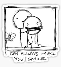 I Can Always Make You Smile. Sticker