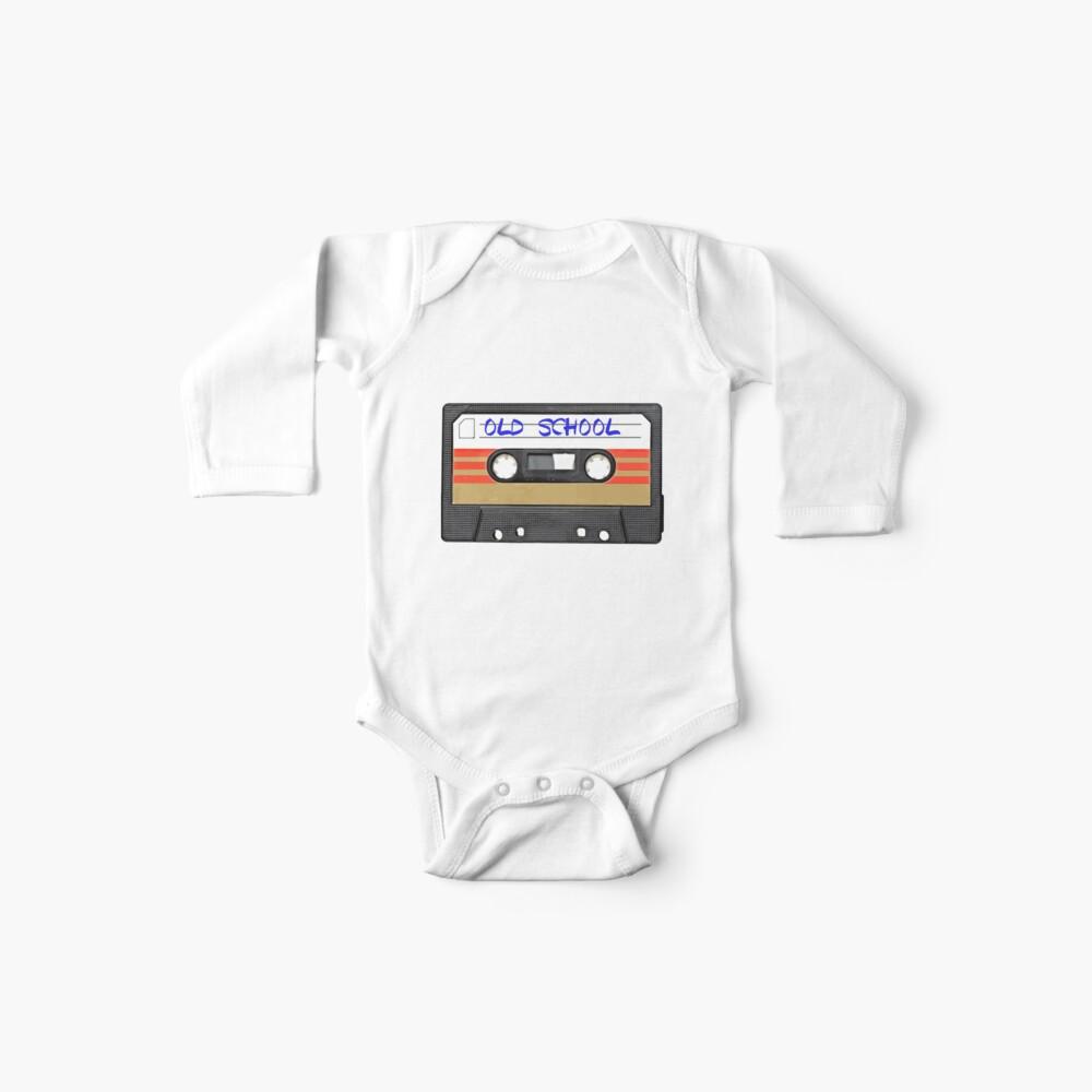 Musica de la vieja escuela Body para bebé