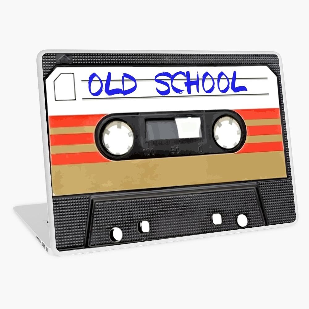 Musica de la vieja escuela Vinilo para portátil