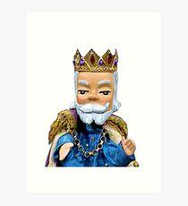 King Friday XIII - Mr Rogers Art Print