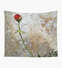 CLIMBING ROSE Wall Tapestry
