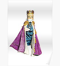 König Freitag Illustriert Poster