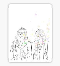Ocean's 8 Debbie x Lou - Bubbles Sticker